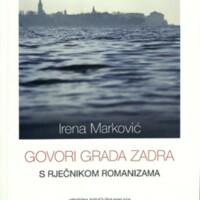 Govori grada Zadra : s rječnikom romanizama