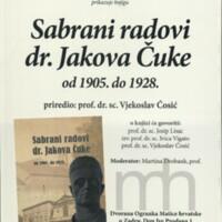 Sabrani radovi dr. Jakova Čuke