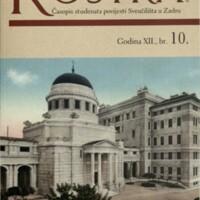 Rostra : časopis studenata povijesti Sveučilišta u Zadru
