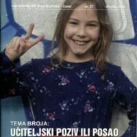 Čehuljica : glasilo učenika Osnovne škole Šime Budinića, Zadar