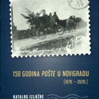 150 godina pošte u Novigradu : (1870.-2020.)