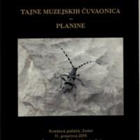 Planine : tajne muzejskih čuvaonica : Kneževa palača, Zadar, 11. prosinca 2019.