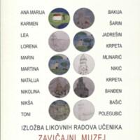 Izložba likovnih radova učenika : Zavičajni muzej Biograd na Moru, 31.01.-29.02.2020.