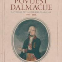 Povijest Dalmacije za vrijeme prve austrijske vladavine : 1797.-1806.