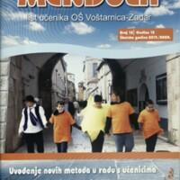 Mendula : list Osnovne škole Voštarnica-Zadar