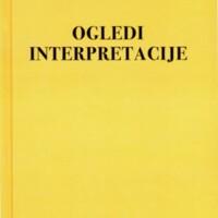 Ogledi ; Interpretacije