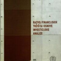 Razvoj financijskih tržišta i osnove investicijske analize