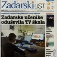 Zadarski list 6991/2020