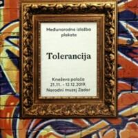 Tolerancija : međunarodna izložba plakata : Kneževa palača, 21.11.-12.12.2019.