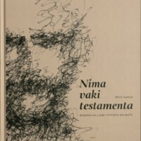Nima vaki testamenta : biografija Ljube Stipišića Delmate
