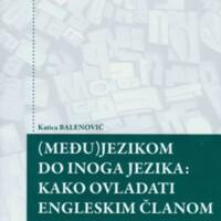 (Među)jezikom do inoga jezika : kako ovladati engleskim članom